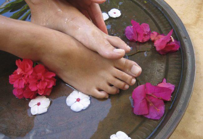Ванночка для потливых ног