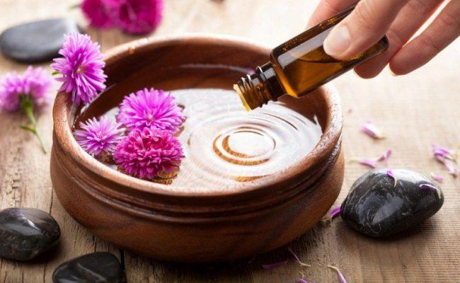 Ванночка для ногтей с эфирными маслами