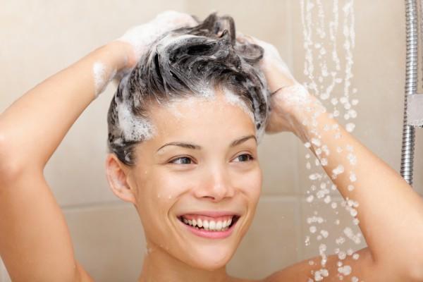 Процедура мытья головы