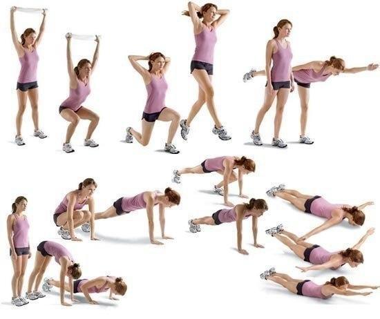 Комплекс упражнений для ног - 1
