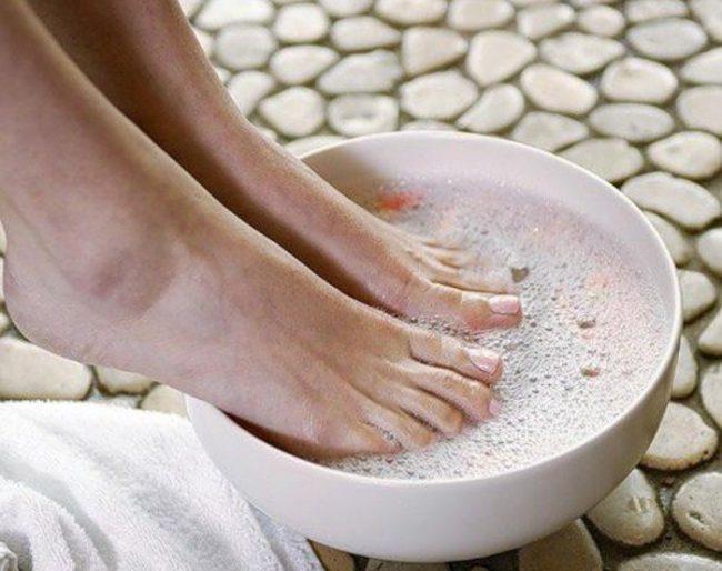 Солевая ванночка от натоптышей
