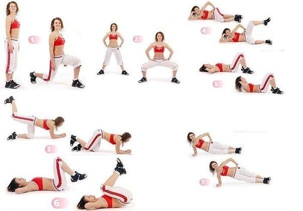 Комплекс упражнений для ног - 2