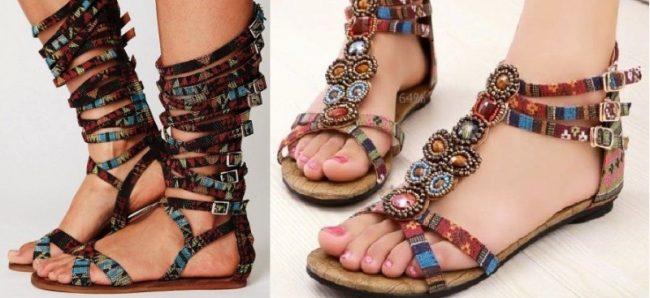 Обувь для худых ног