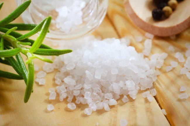 Морская соль для ног