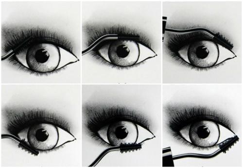 Как красить глаза тушью: некоторые хитрости