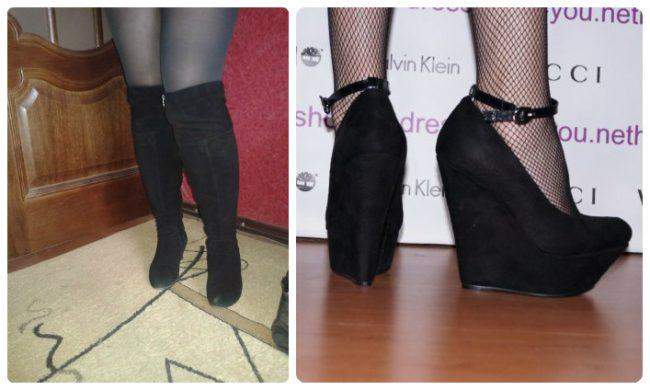 Обувь для полных ног