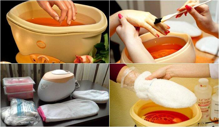 Набор для парафинотерапии рук в домашних условиях