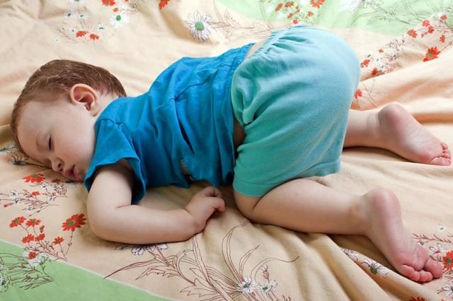 """""""Поза ребенка"""" - идеальная поза для полноценного сна"""