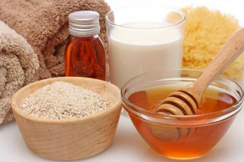 Дрожжи и мед для приготовления маски для волос
