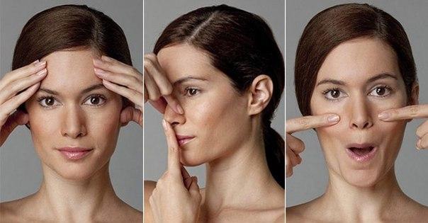 Гимнастика для коррекции носа и губ