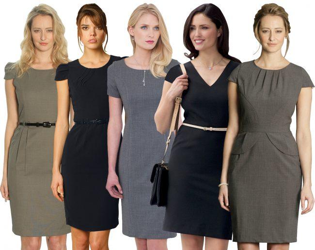 ТОП-5 базовых платьев в женском гардеробе