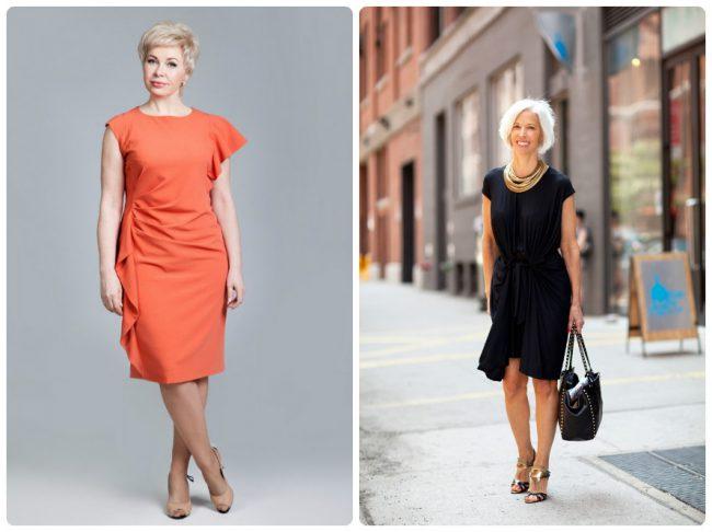 Платья для женщин после 50