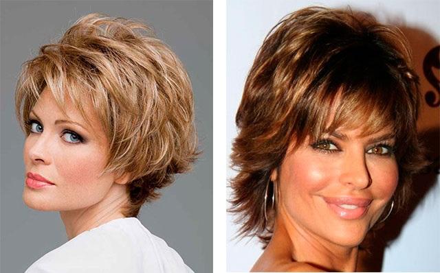 Стрижки на средние волосы для зрелых женщин
