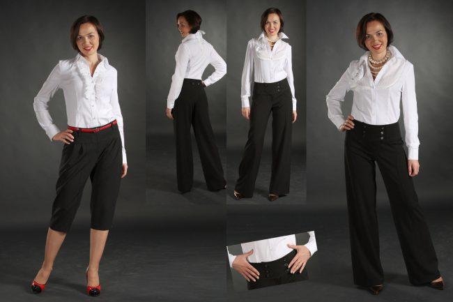 Классический стиль для дамы в возрасте