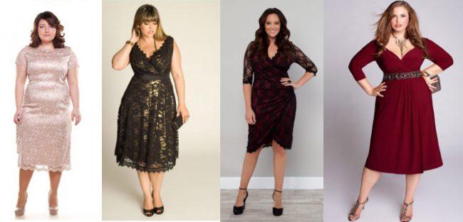 Платья для женщин с широкими бедрами