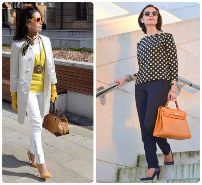 Идеальная цветовая гамма одежды для женщин после 50
