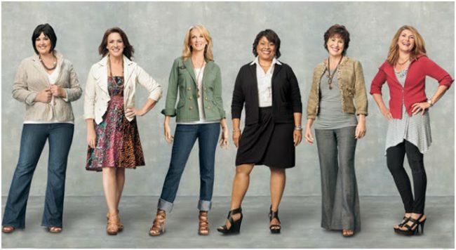 Как одеваться женщинам в возрасте 50+