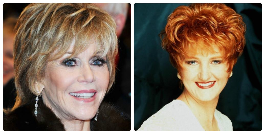 Причёска в 45 лет женщине фото