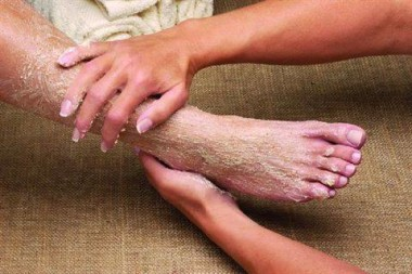 Пилинг ног в домашних условиях