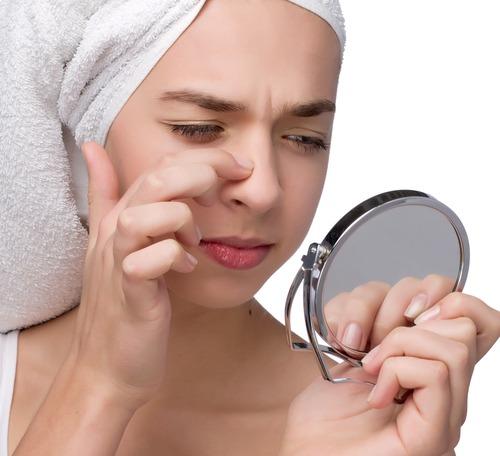 Камедоны на лице