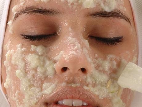 Чистка лица хлоридом кальция
