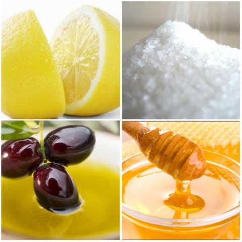 Ингредиенты домашнего фруктового пилинга