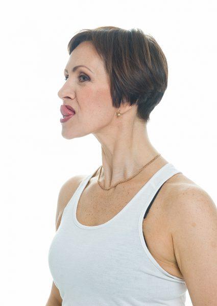 Упражнение для лица от Галины Дубининой