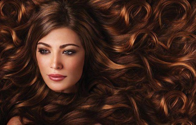 Девушка с каштановыми волосами