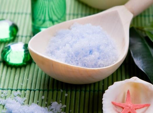 Скраб для волос и кожи головы из соли