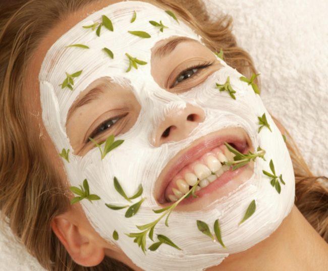 Домашняя маска от камедонов