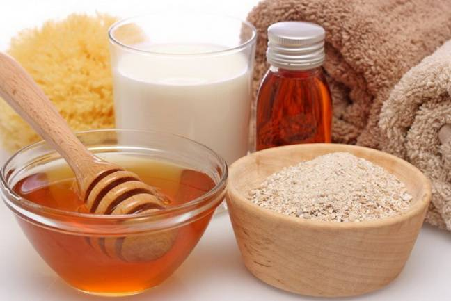 Ингредиенты для приготовления скрабов