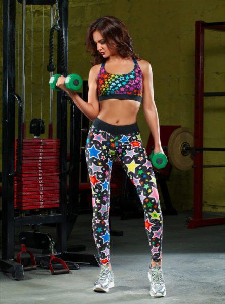 Женский спортивный костюм с принтом