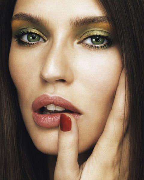Зеленый макияж для зеленоглазых