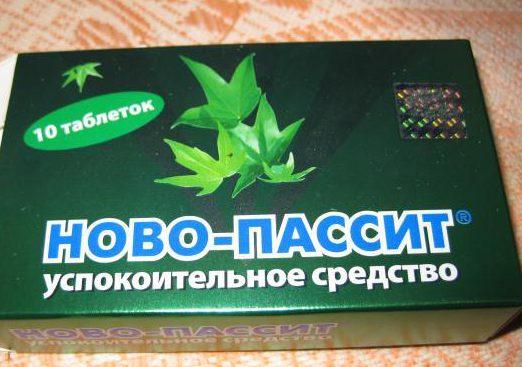 Ново-пассит в таблетках