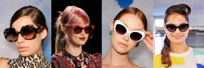Модные солнцезащитные очки 2018 года
