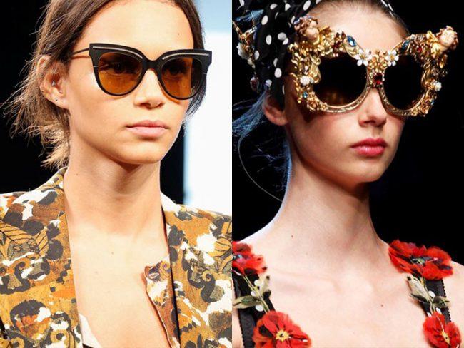 Яркий декор на очках