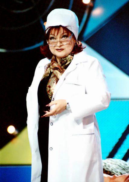 Елена Степаненко на сцене