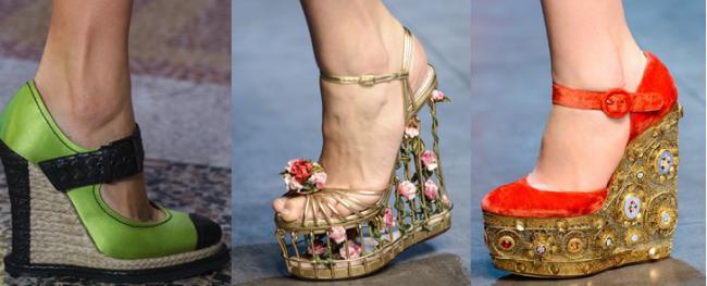 Туфли со сплошной подошвой