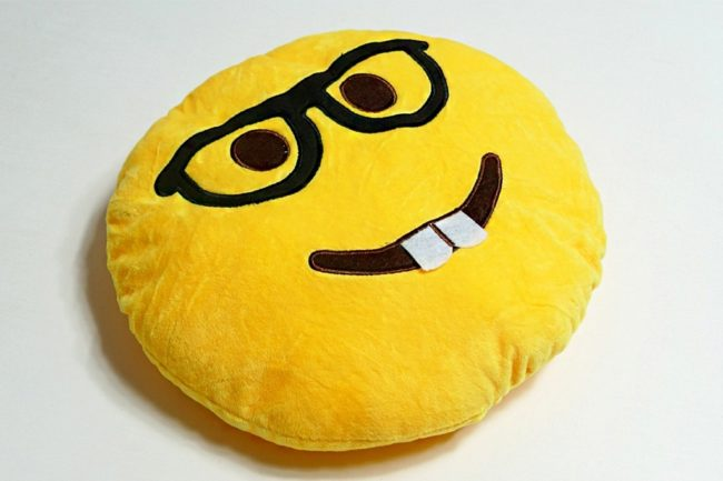 Подушка-смайлик
