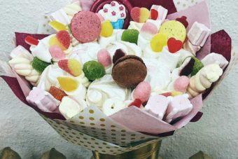 Сладкие букеты – красивый и вкусный подарок