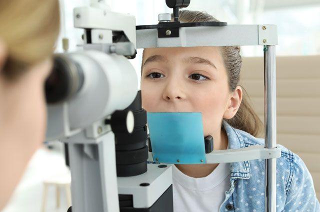 Прием у детского офтальмолога