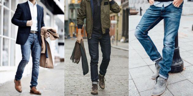 Виды мужских джинсов