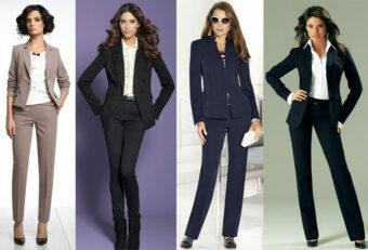 Какие женские деловые костюмы будут в моде осенью 2019-го?