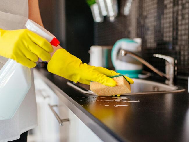Мытье раковины