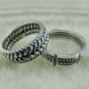 Серебряное кольцо – гармония контрастов